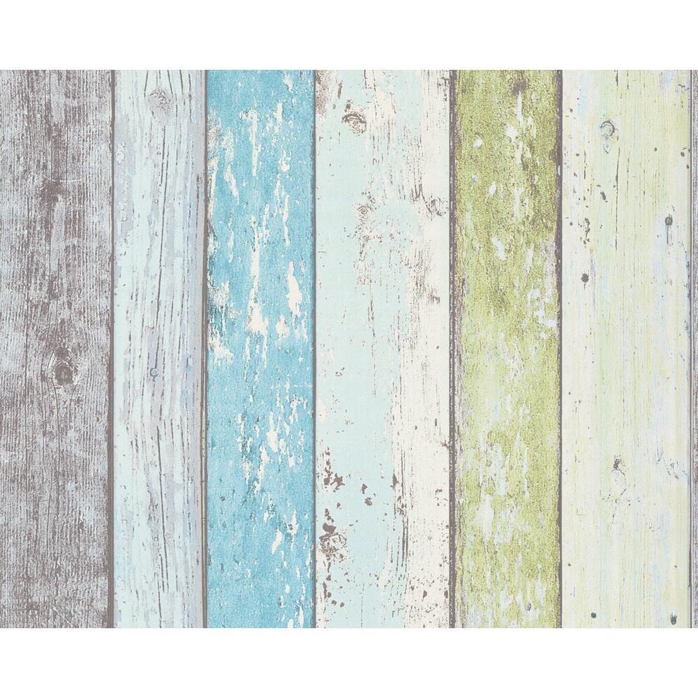 Color Hut Textures: New As Creation Surf Beach Hut Painted Wood Panel Pattern