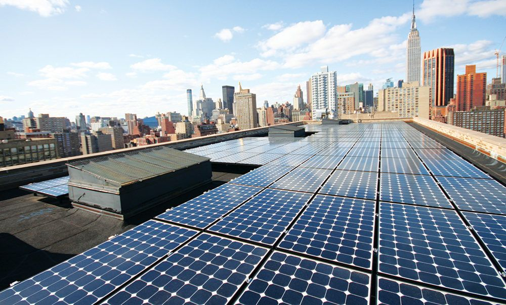 New York City Gets Its Largest Community Solar Installation At 1 2 Mw Solar Installation Solar Best Solar Panels
