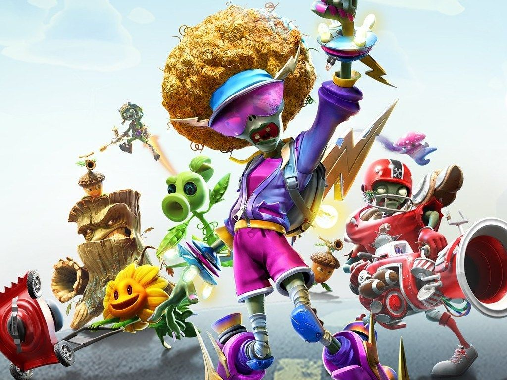 Plants Vs Zombies Battle For Neighborville Video Game Announced For Xbox One Onmsft Com Xbox One Plants Vs Zombies Xbox One Games