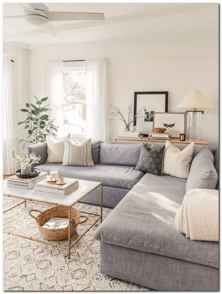 Easy And Simple Small Living Room Ideas For Apartment 9 Living Room Decor Apartment Small Apartment Living Room Farmhouse Decor Living Room