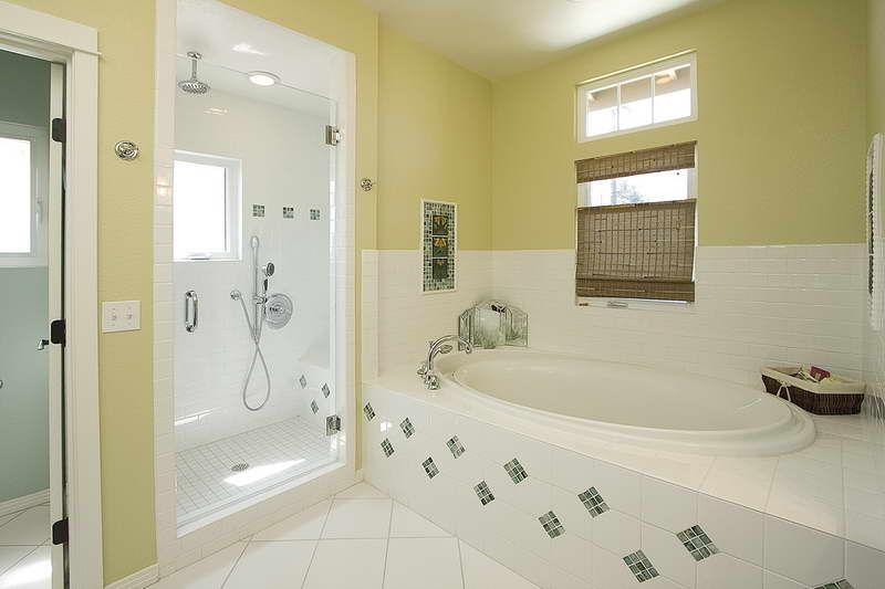 Tile Bathroom Shower Curtain With Window ~ http://lanewstalk.com/simple