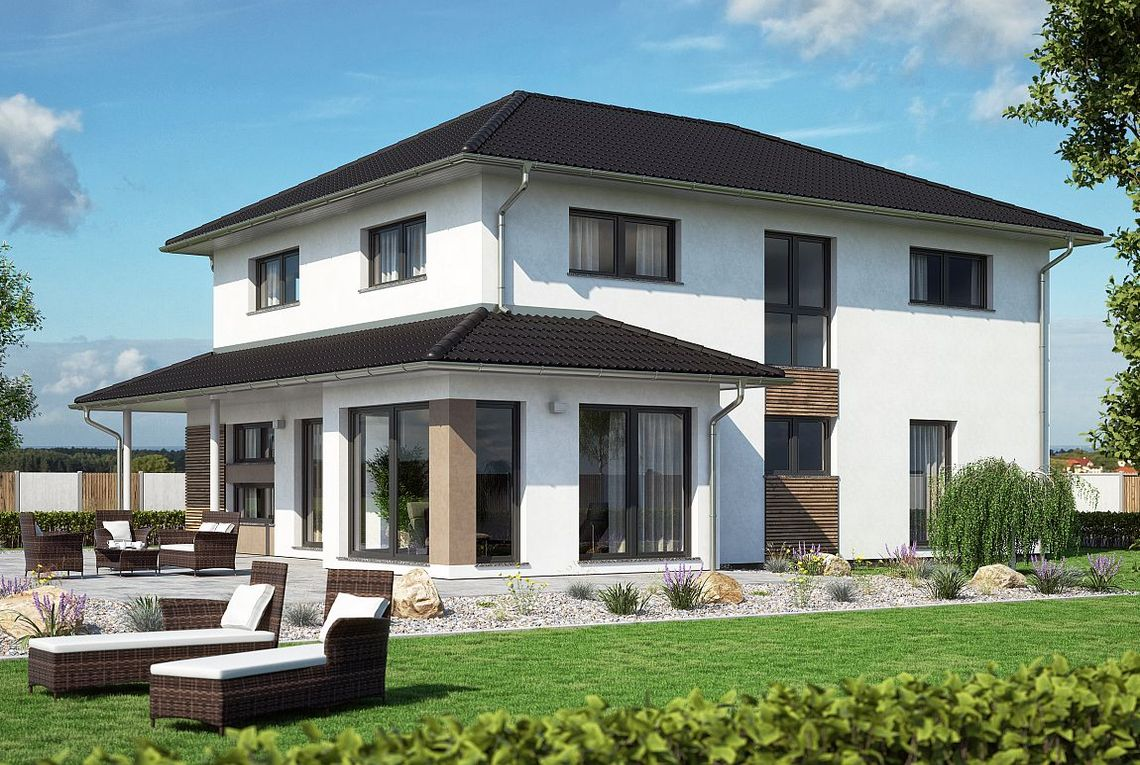 stadtvilla atlanta rensch haus ber 140 jahre fertigh user haus pinterest. Black Bedroom Furniture Sets. Home Design Ideas