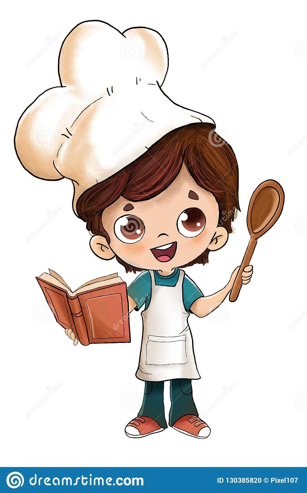 Cooking Cartoon Images : cooking, cartoon, images, Cooking, Images, Cartoon, Drawings,, Little, Drawing,