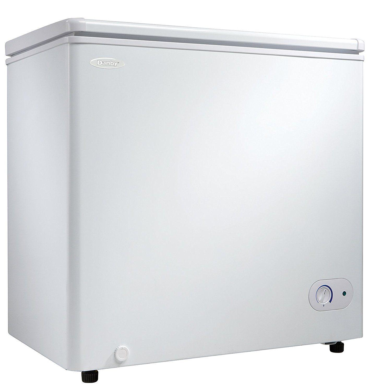 Danby dcf055a1wdb1 chest freezer 55 cubic feet white