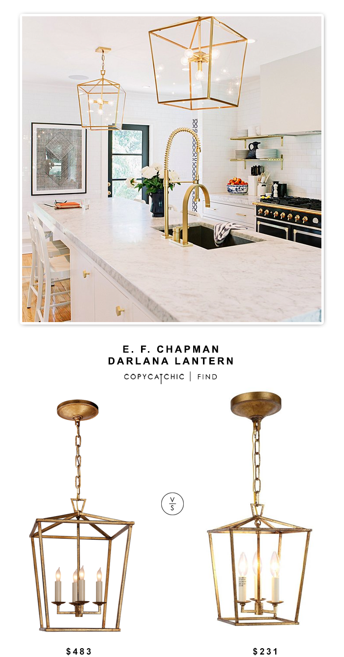 e f chapman darlana lantern copy cat chic cove lighting