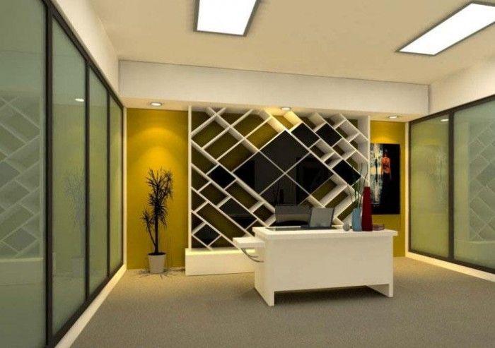 Office Wall Design For Reception Area Office Wall Design Corporate Office Design Interiors Cabin Interior Design