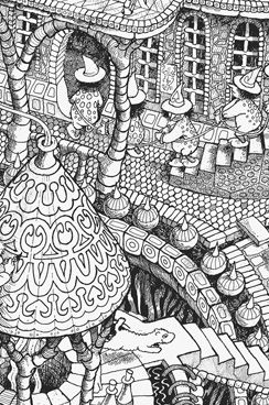 Wildergorn, colour in posters, colouring posters, coloring posters ...