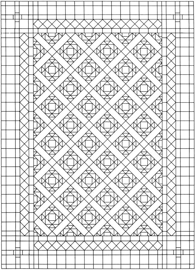 Creative Haven Mosaic Tile Designs Coloring Book