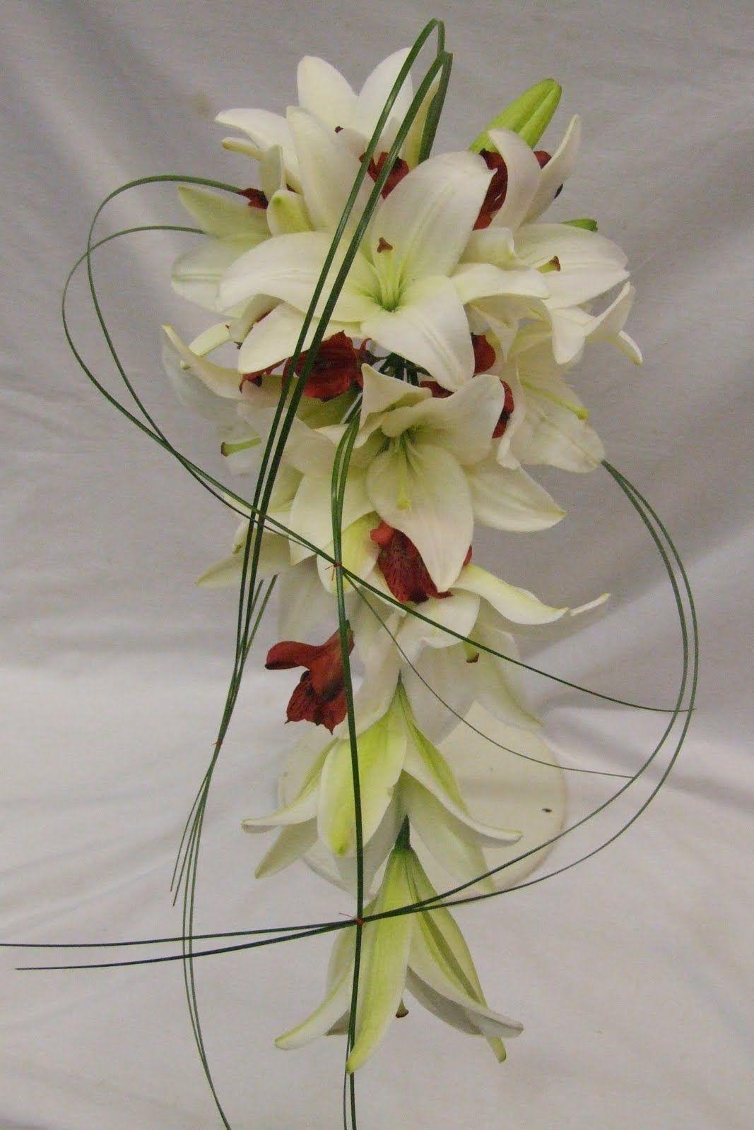 Lily Oriental Wedding Bouquet Claire Chose A Modern Shower Bouquet