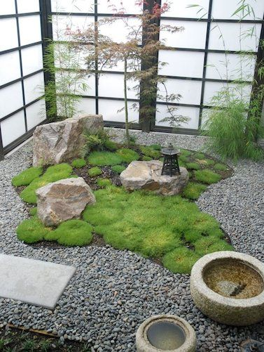 Would You Try Your Hand At A Miniature Asian Inspired Rock Garden