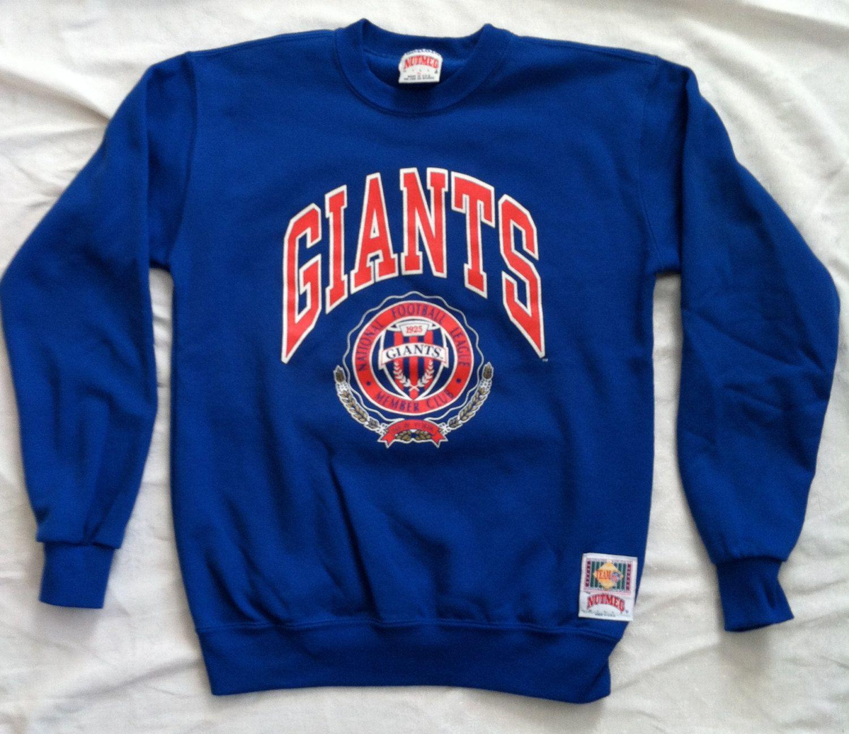 lowest price fc84c 199da New York Giants vintage 90's crewneck sweatshirt Small NFL ...