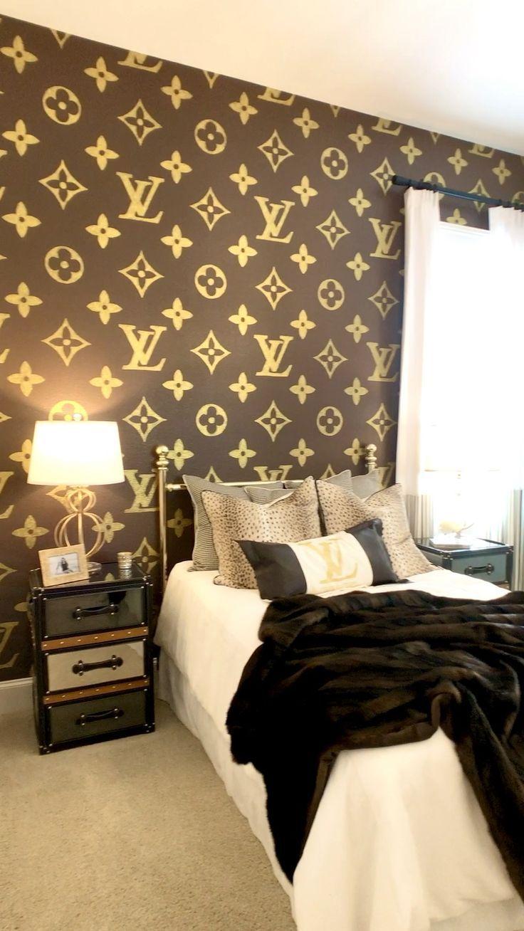 Louis Vuitton Schlafzimmer Design Designinterior Designinspo Designerwear Fashionkids Fashioninspo Hijabfash Bedroom Themes Aesthetic Bedroom Dream Rooms