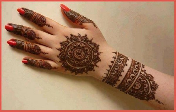 Mehndi Simple Arabic Designs For Hands : Simple mehndi designs for hands mehndidesigns