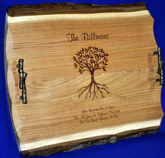 Personalized Gifts For Parents ~ Bride and Groom Gift ~ Anniversary Gift ~ Personalized Wedding Gift ~ Engraved Sign ~ Family Tree ~ Family