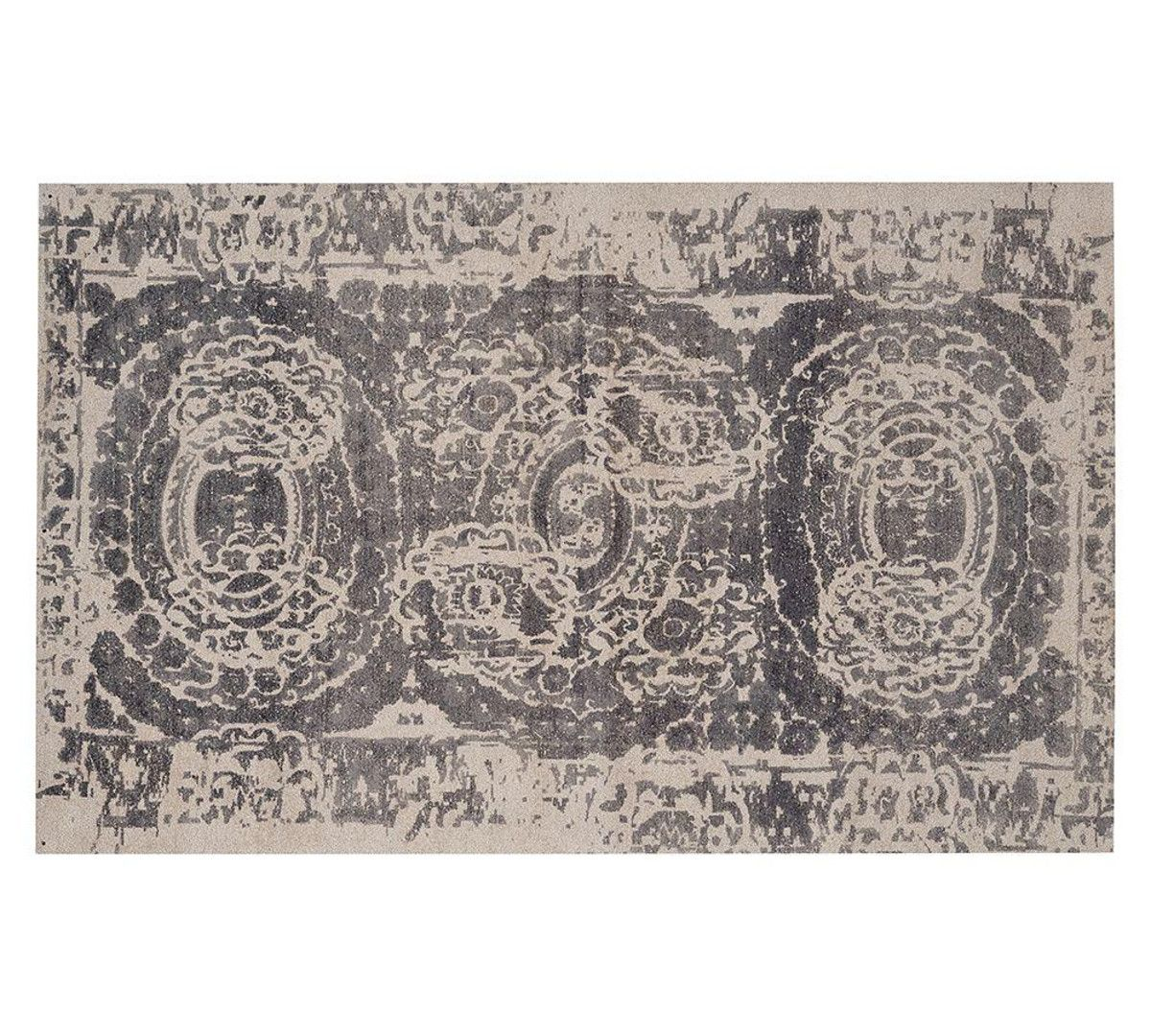 Bosworth Printed Rug Grey Wool Area Rugs Grey Rugs