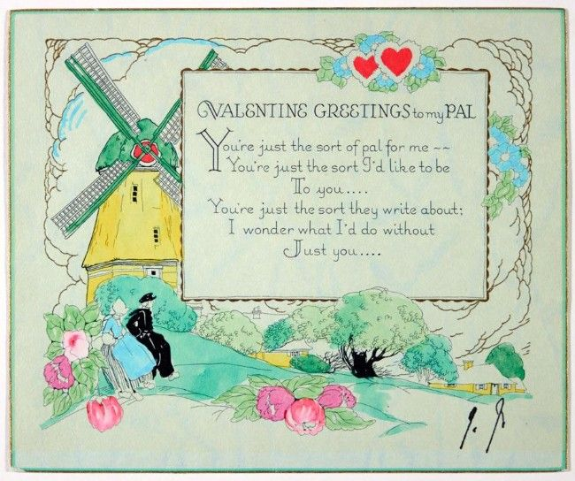 #peom #valentine     'You're just the sort they write about': James Joyce sends a Valentine's Day card to his 'pal' in 1933 - WorldIrish