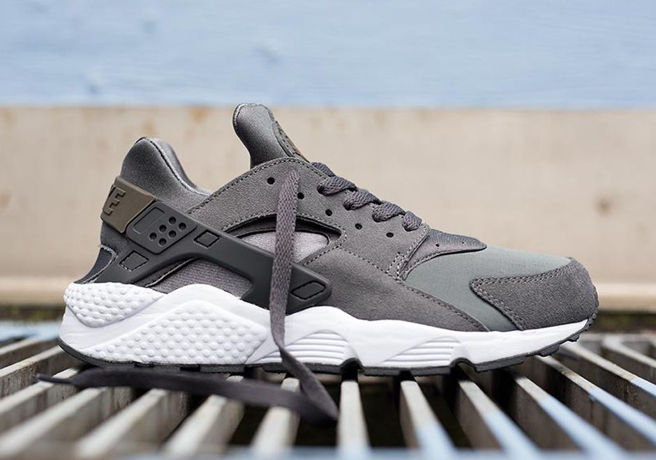 nike air huarache black grey camo nz