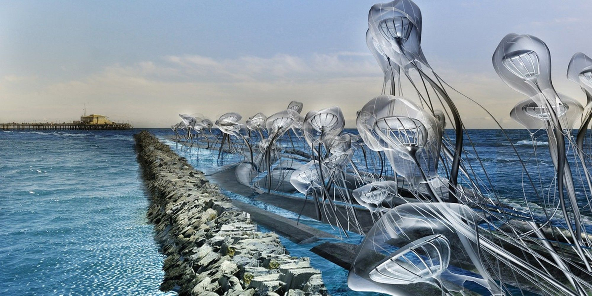 Fantasy Art The Future Of Energy And Water Technology In  # Muebles Janine Bogota