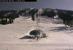 Mount Bachelor brings in visitors from all over!  All you need to know right here: http://www.mtbachelor.com/winter/index.html