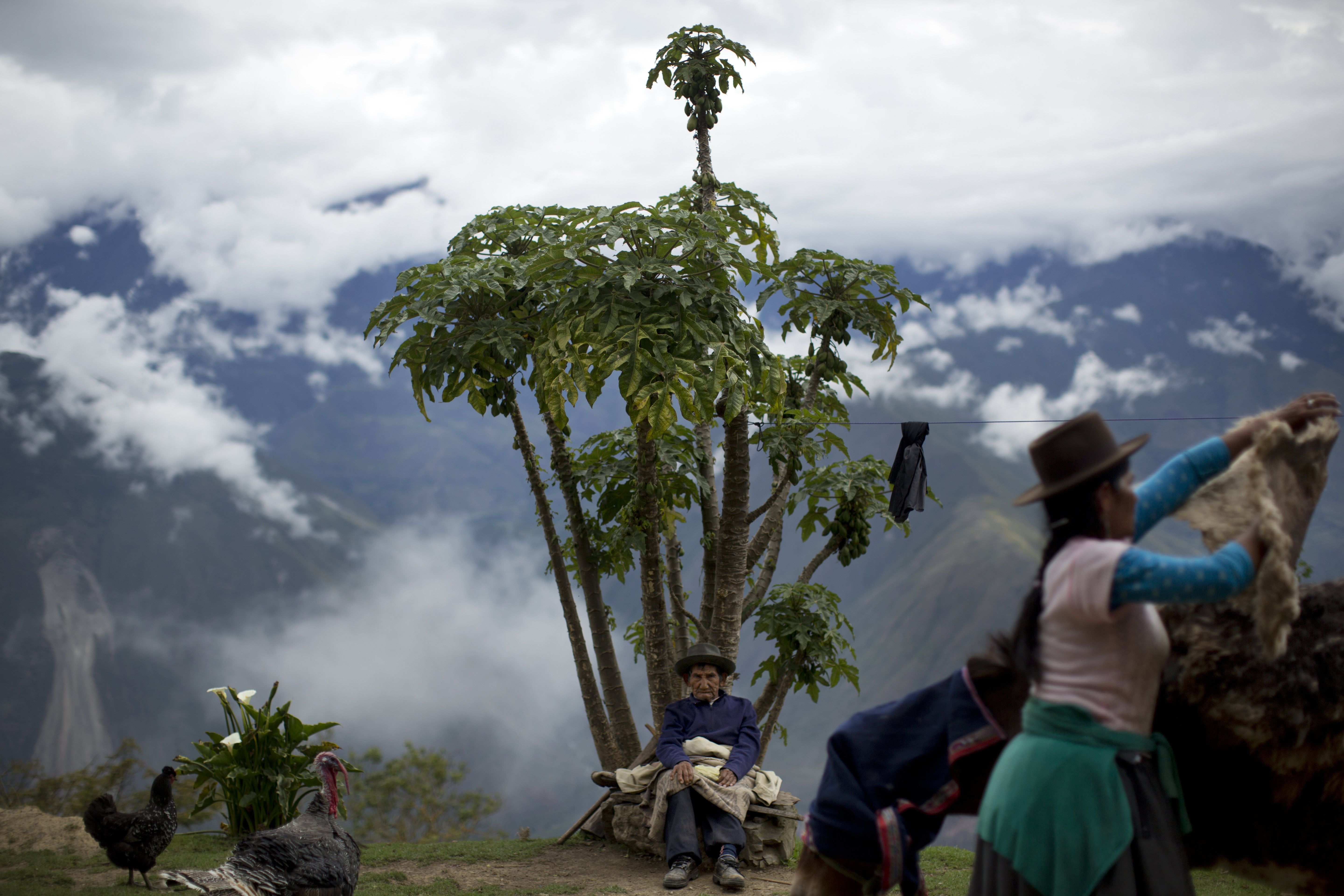 Climate Change Is Forcing Peruvians To Adapt To Dangerous
