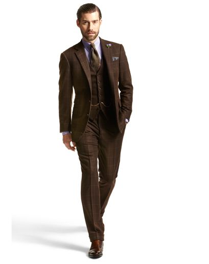 Brown suit.   Guys with Style   Pinterest   Fall fashion ...