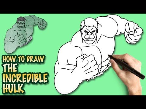 How To Draw The Incredible Hulk Easy Step By Step Drawing Lessons For Kids Drawing Lessons For Kids Drawing Lessons Spiderman Drawing