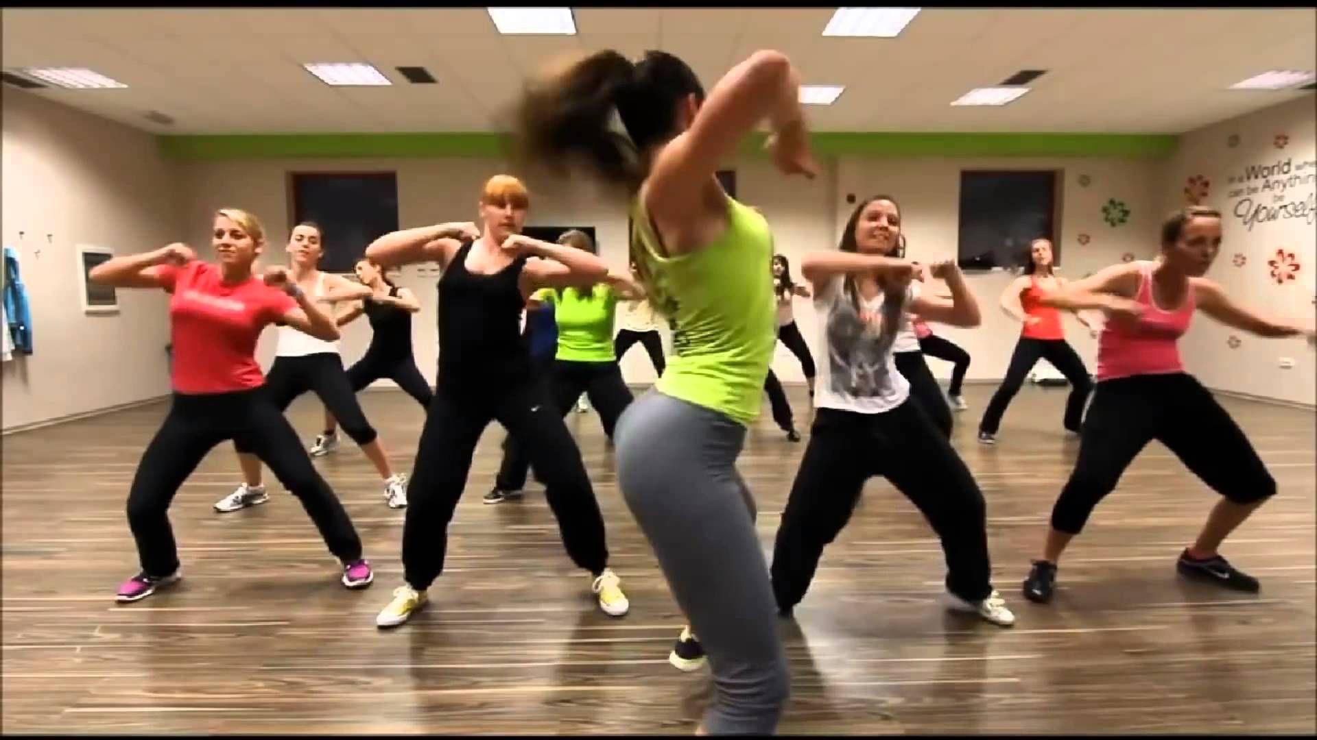 Easy zumba class low impact cardio workout cardio