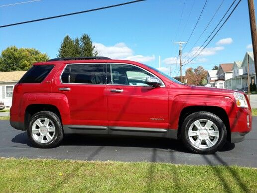2013 Gmc Terrain In Crystal Red Tintcoat Gmc Terrain Gmc Suv