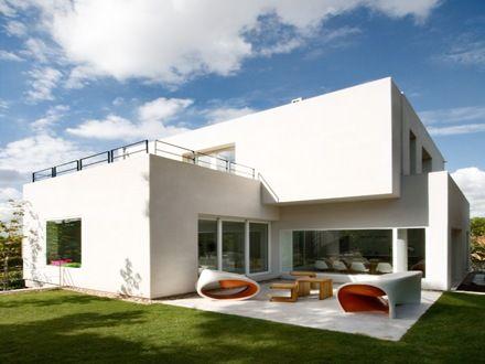 casa-contemporanea fachadas Pinterest Casas contemporáneas - fachadas contemporaneas