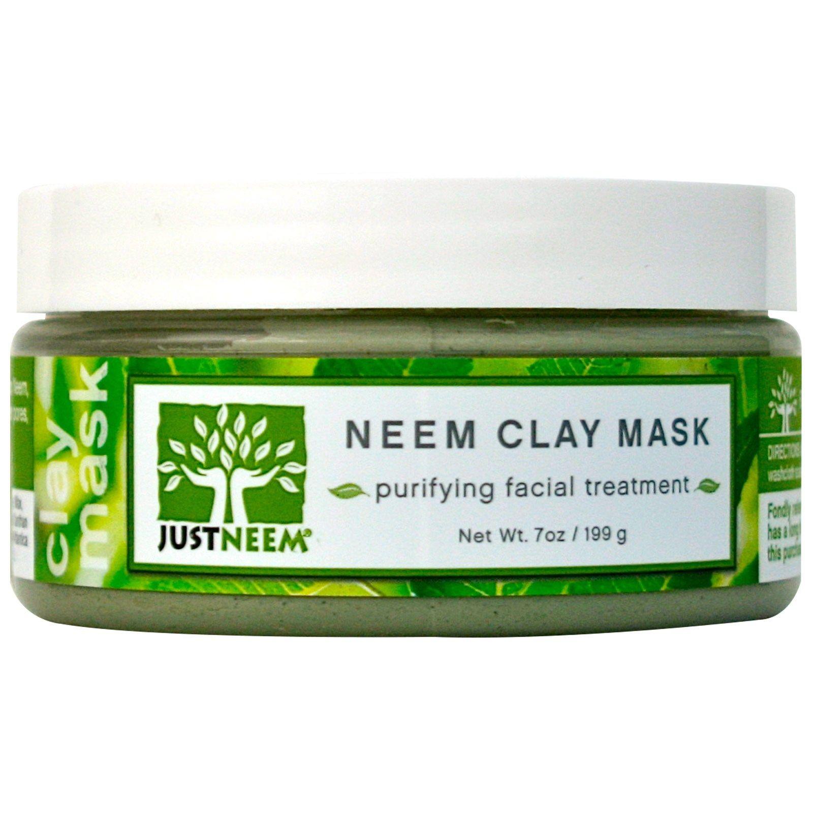 JustNeem, Neem Clay Mask Очищающее средство для лица