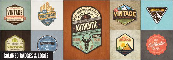 Vintage Style Badges And Logos Vol 2 Vintage Logo Badge Vintage