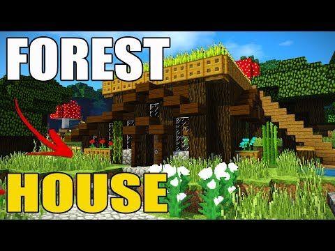 Http://minecraftstream.com/minecraft Tutorials/minecraft Tutorial Best  Minecraft Survival House In The Forrest Ps34 Xbox Wii U Switch Pe/    Minecraft ...