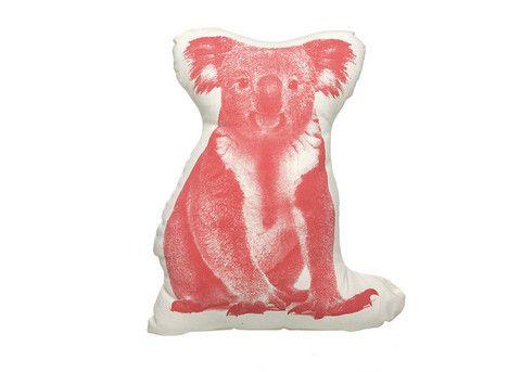 GreenerGrassDesign - SALVOR FAUNA KOALA MINI CUSHION/PILLOW design by Ross Menuez, $30.00 (http://www.greenergrassdesign.com/salvor-fauna-koala-mini-cushion-pillow-design-by-ross-menuez/)