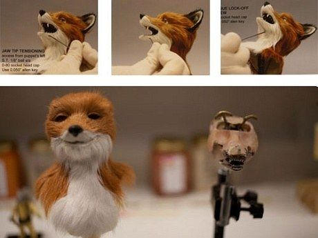 How The Puppets From Fantastic Mr Fox Were Made Slide Show Stop Motion Fantastic Mr Fox Stop Motion Armature