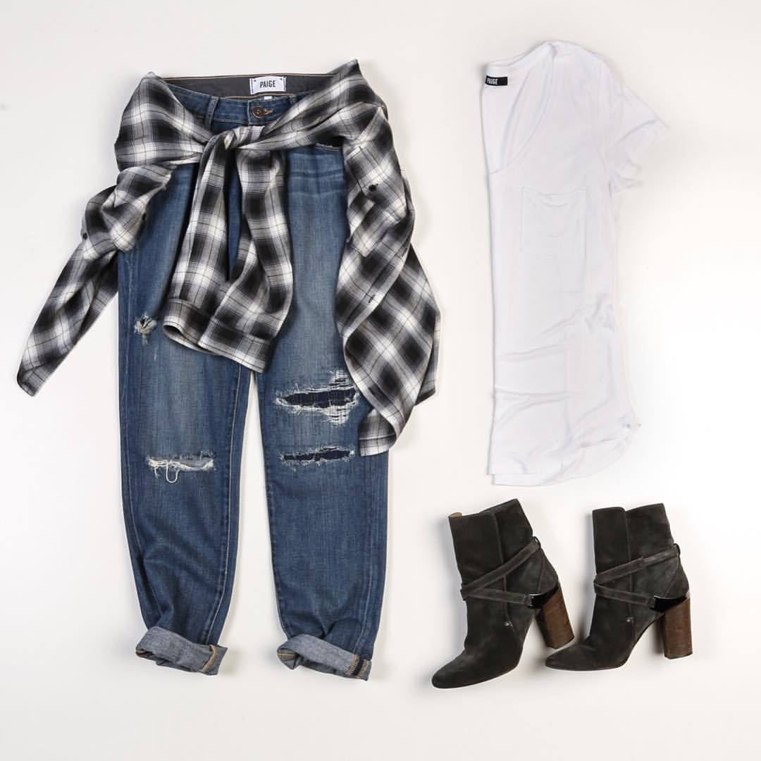 Staples that will take you from summer to fall - link in our profile to shop the look. #LIVEINIT