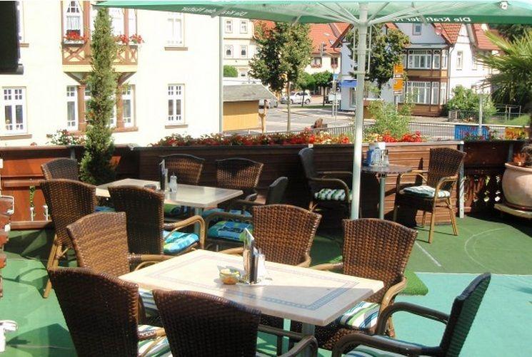 Schlosscafe Outdoordekorationen, Thüringer