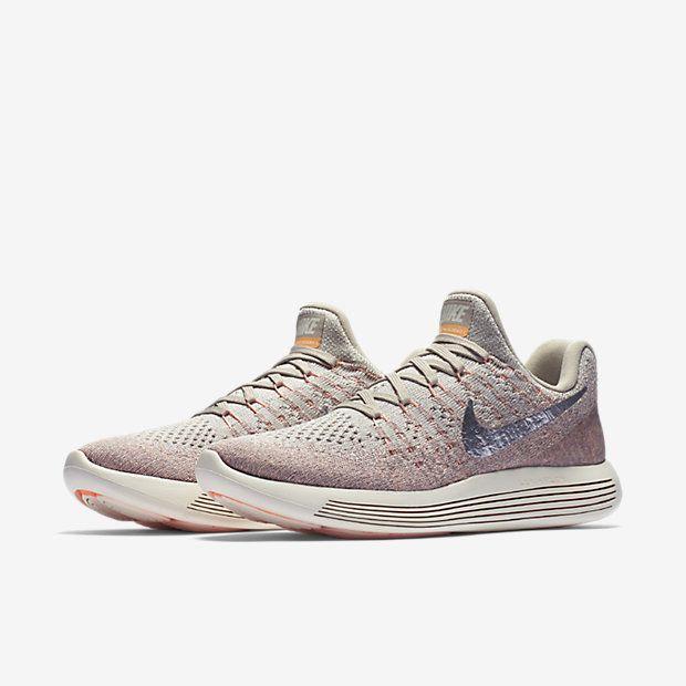 Nike Lunarepic Low Flyknit 2 Women S Running Shoe Pink Nike Shoes Running Sneakers Nike Shoes Outfits