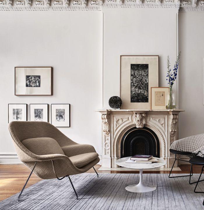 Womb Sofa Parisian Chic Chair Knoll Chairs