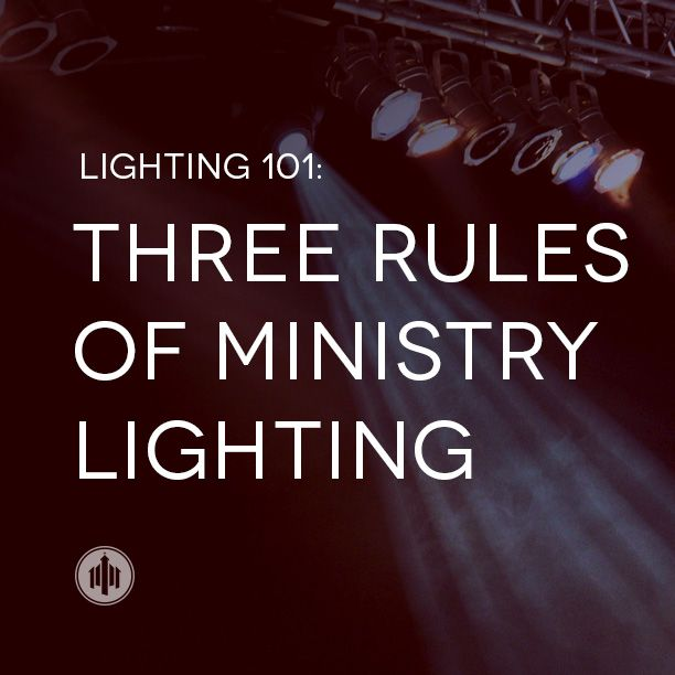Lighting 101 // Three Rules of Ministry Lighting - The Church Collective  sc 1 st  Pinterest & DMX side light top light front light wash LED conventional ...