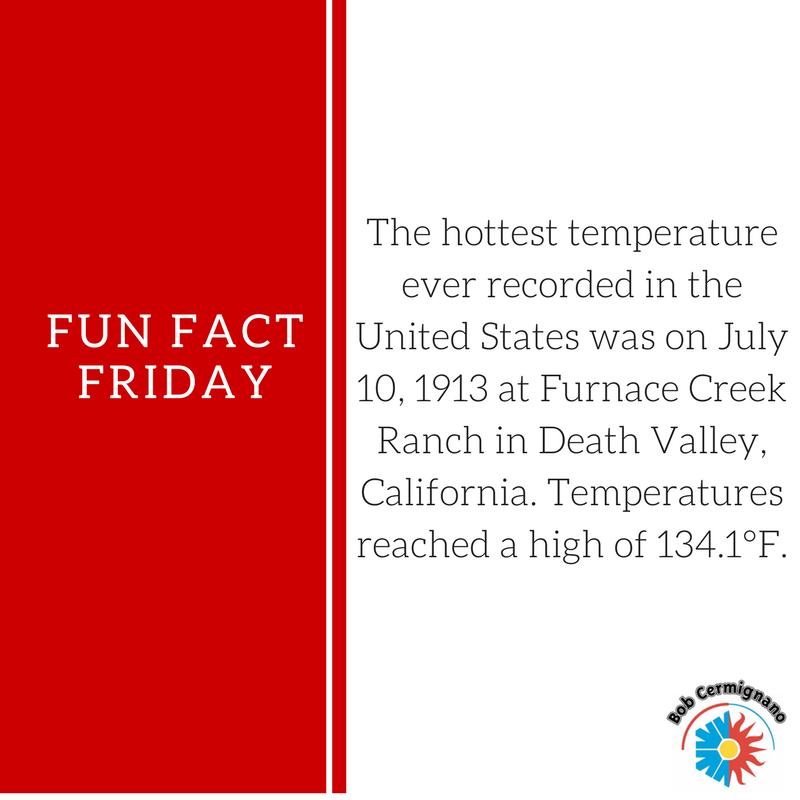 Fun Fact Friday July 27, 2018! Fun fact friday, Hvac