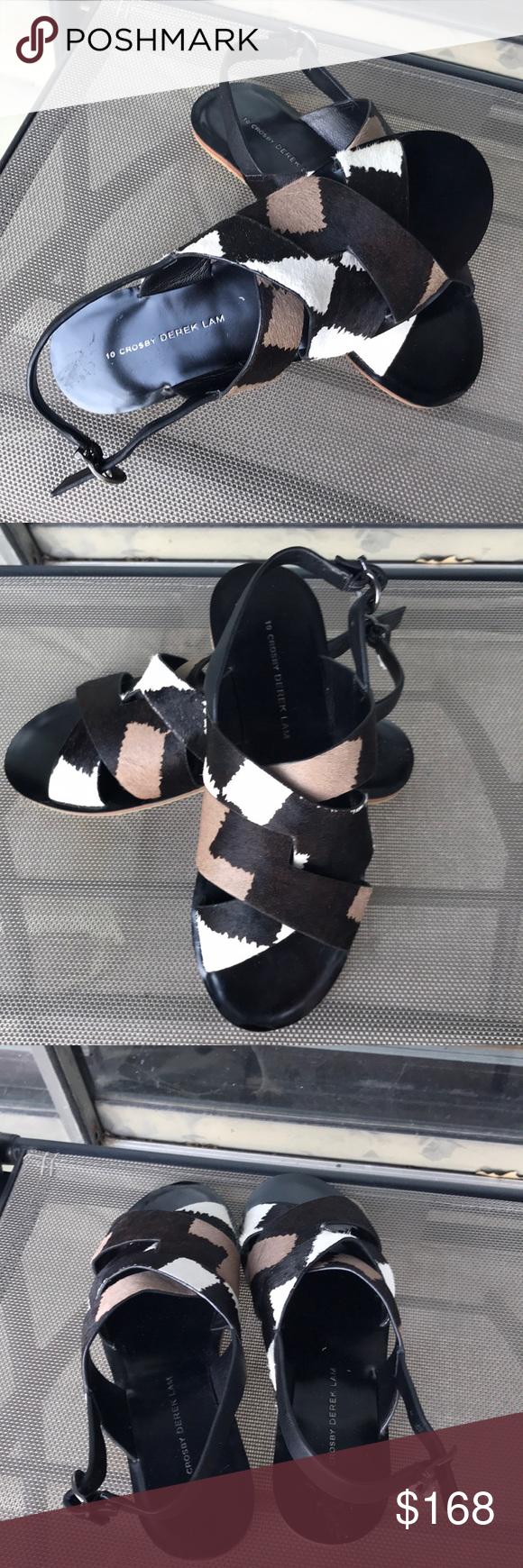 10 Crosby Derek Lam Strap Flat Sandals Nwot Derek Lam Shoes Clothes Design Fashion Design