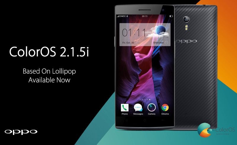 ColorOS 2 1 5i Lollipop ROM for Oppo Find 7, Find 7a- New