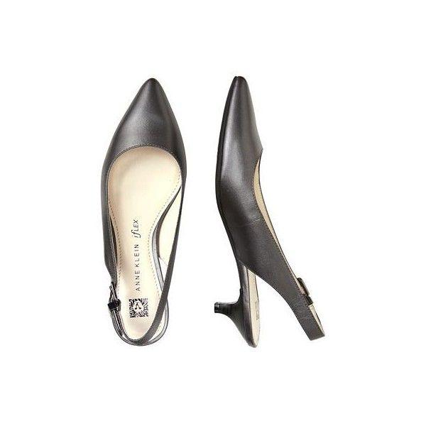 Anne Klein Expert Kitten Heels ($79) ❤ liked on Polyvore ...