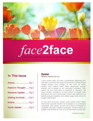 flowers church newsletter newsletters pinterest newsletter