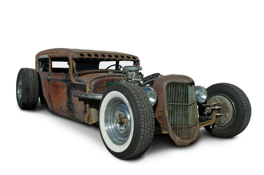 Rat Rods Mixing Hot Rods And Custom Classic Vehicles Cars
