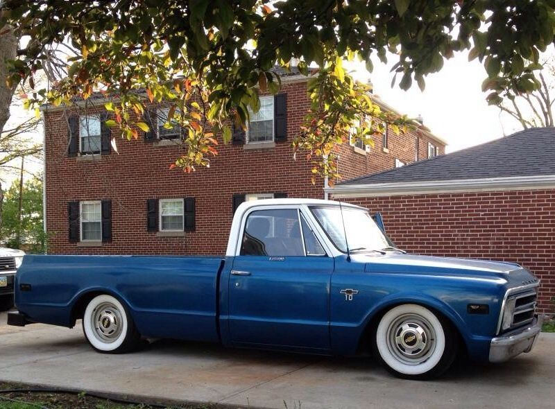 Chevrolet C 10 Long Bed Chevy C10 Air Ride C10 Chevy Truck