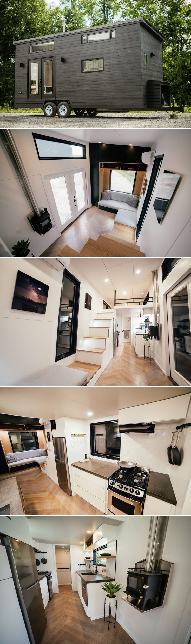 Kubrick by Wind River Tiny Homes - Tiny Living #tinyhomes