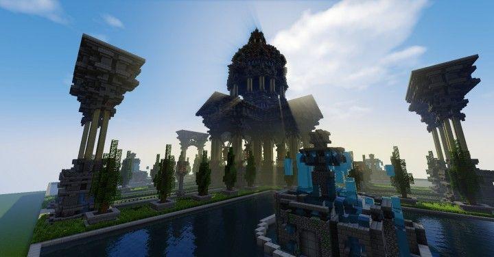 Romanesque Spawn [DOWNLOAD] Minecraft Project | Minecraft