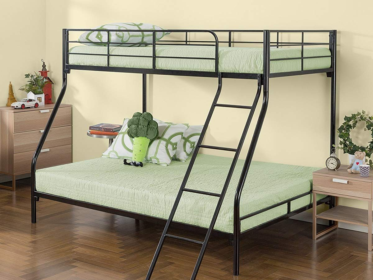 Zinus Easy Assembly Quick Lock Metal Bunk Bed Quick To Assemble