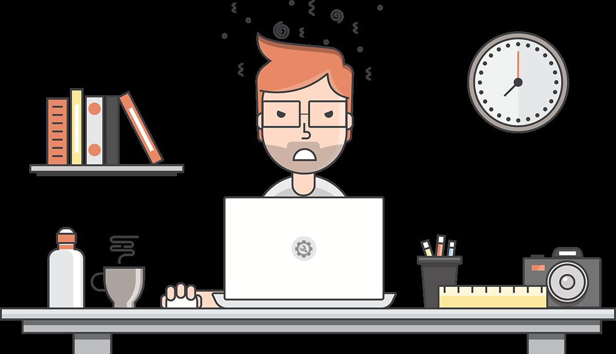 Mad Designer At Work Website Design Services Solutions Teacher Tech